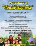 Nepal Children's Home 3rd Annual Charity Golf Classic