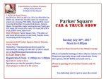 Parker Square Car & Truck Show